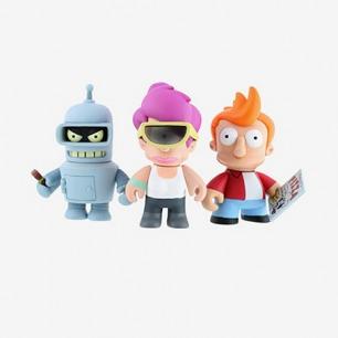 Kidrobot Futurama 飞出个未来 迷你3寸玩偶 整盒16只