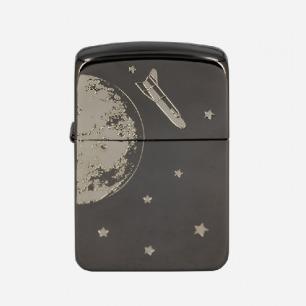 Zippo 1941 复刻黑冰银色月球之旅
