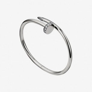 Bracciale Juste un Clou - Oro bianco, diamanti - Fine Bracciali da donna - Cartier