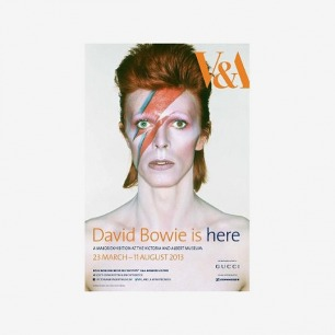 V&A David Bowie Is Exhibition Poster ||EVAEX : All