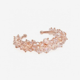 JANETTE - Beaded cluster cuff - Pink | Womens | Ted Baker UK