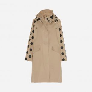 MULBERRY + Mackintosh Dotty 纯棉斜纹布外套