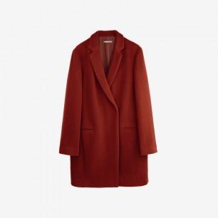 西服式羊毛呢大衣