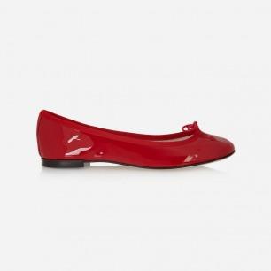 Repetto Cendrillon 漆皮芭蕾平底鞋