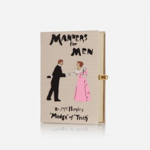 Olympia Le-Tan   Manners For Men 刺绣手拿包