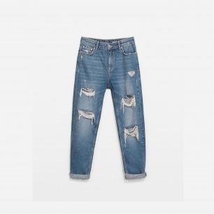 zara 牛仔裤