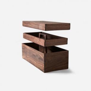 Reclaimed Tropical Walnut Tool Box