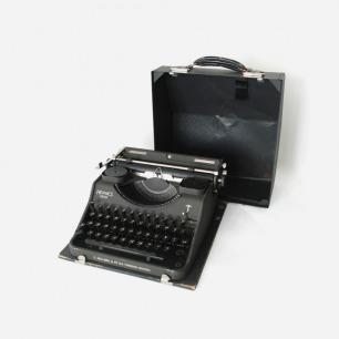 爱马仕 Hermes MEDIA 古董打字机