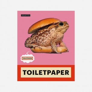Toiletpaper系列 青蛙 贴纸