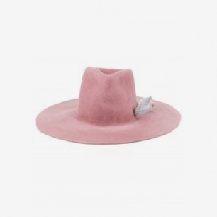 Rose Round Diamante Meadow Hat | Littledoe | Avenue32