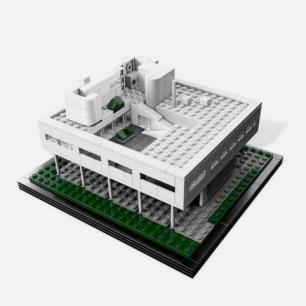 Lego樂高 Villa Savoye薩伏伊別墅
