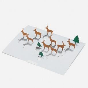 木屑纸降临卡 驯鹿