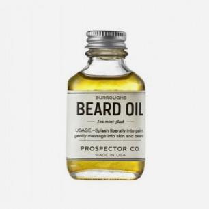 Burroughs Beard Oil胡须油