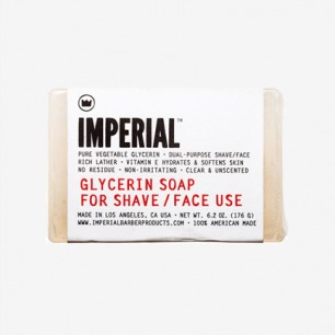 Imperial Glycerin Shave & Face Soap