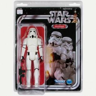 Star Wars Stormtrooper Jumbo Vintage Kenner Action Figure - Gentle Giant - Star Wars - Action Figures at Entertainment E