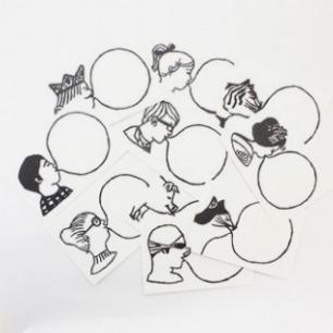 たつみなつこ : BUBBLE GUM ポストカード | Sumally
