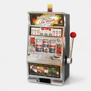 玩意生活 发声版老虎机储钱罐存钱罐 游戏机储蓄罐