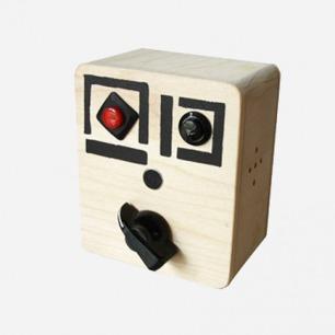 美国制造 纯手工木制录音器 变声器 纽约MOMA收藏品