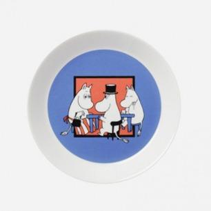 芬兰Arabia Moomin Together姆明系列通用餐盘19cm
