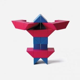 瑞士Naef木制进口儿童玩具 Ponte益智建筑积木 成人创意礼品