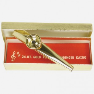 Gold Plated Kazoo