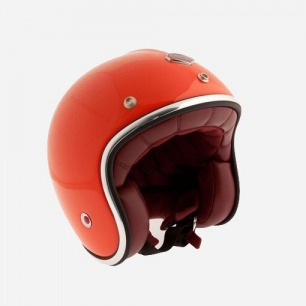 Ruby Pavillon Helmut 桔色 摩托车减震防护头盔