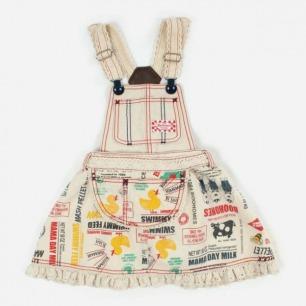 宝宝背带裙