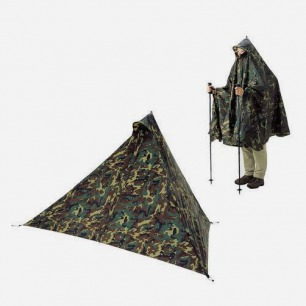 mont-bell 雨披+帐篷多功能户外生存用具