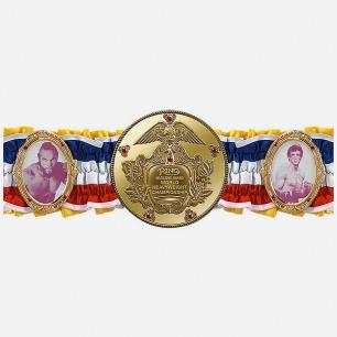 Hollywood Collectibles 拳击电影《洛基》世界冠军腰带复制品