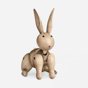 丹麦Rosendahl 木质小兔子/橡木兔子 珍藏版