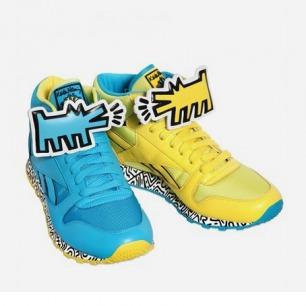Reebok  Keith Haring涂鸦运动鞋