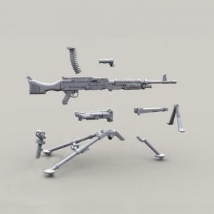LIVE RESIN自动武器模型