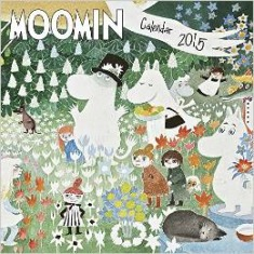Amazon.co.jp: Moomin Wall Calendar 2015 (Art Calendar): 洋書