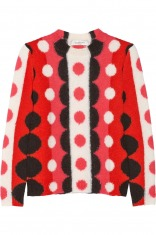 Valentino 圆点嵌花针织羊毛衫