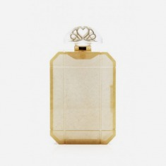 Gold Scent Clutch by Charlotte Olympia Now Available on Moda Operandi