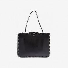 Valentino Squared 'rockstud' Shoulder Bag - Ottodisanpietro - Farfetch.com