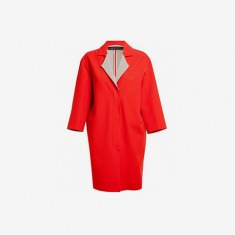 Roland Mouret Paddington Crepe Wool Cocoon Coat - Browns - Farfetch.com