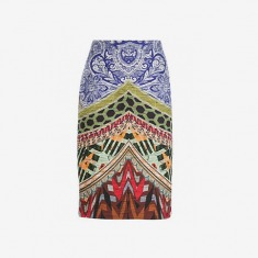 Etro Multi Print Skirt - Biedermann En Vogue - Farfetch.com