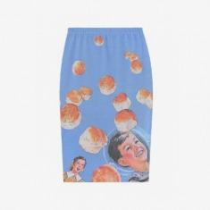 面包宇航员半身裙