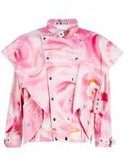 Kansai Yamamoto Vintage Shoulder Flap Jacket