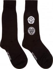 Raf Simons: Black & White Symbol Socks