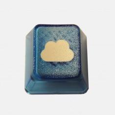 浮云透光机械键盘键帽