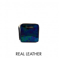 Lulu Guinness Oil Slick Square Coin Purse