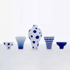 殷九龙骨瓷作品