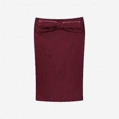Antipodium Facet Skirt 一字半身裙【枣红】
