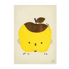 瑞典Fine Little Day 黄苹果海报|印刷画
