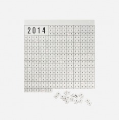 Perforated Calendar – White