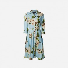 SAMANTHA SUNG 'Audrey' floral dress