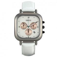 OC1 Chronograph (white/white) | Designer Watches | Dezeen Watch Store