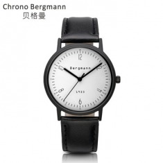 Bergmann包豪斯风格石英手表